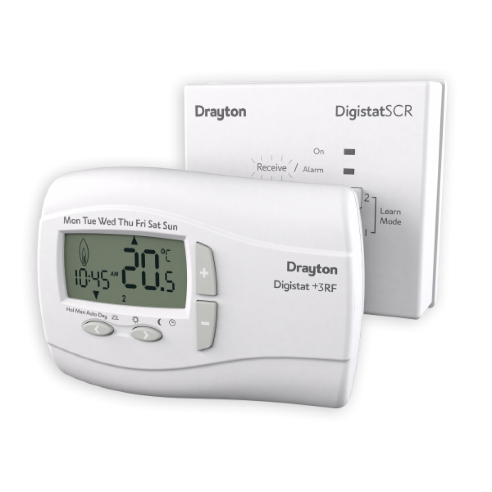 Drayton (ACL) Digistat+ 3RF 7-day Wireless Programmable Thermostat