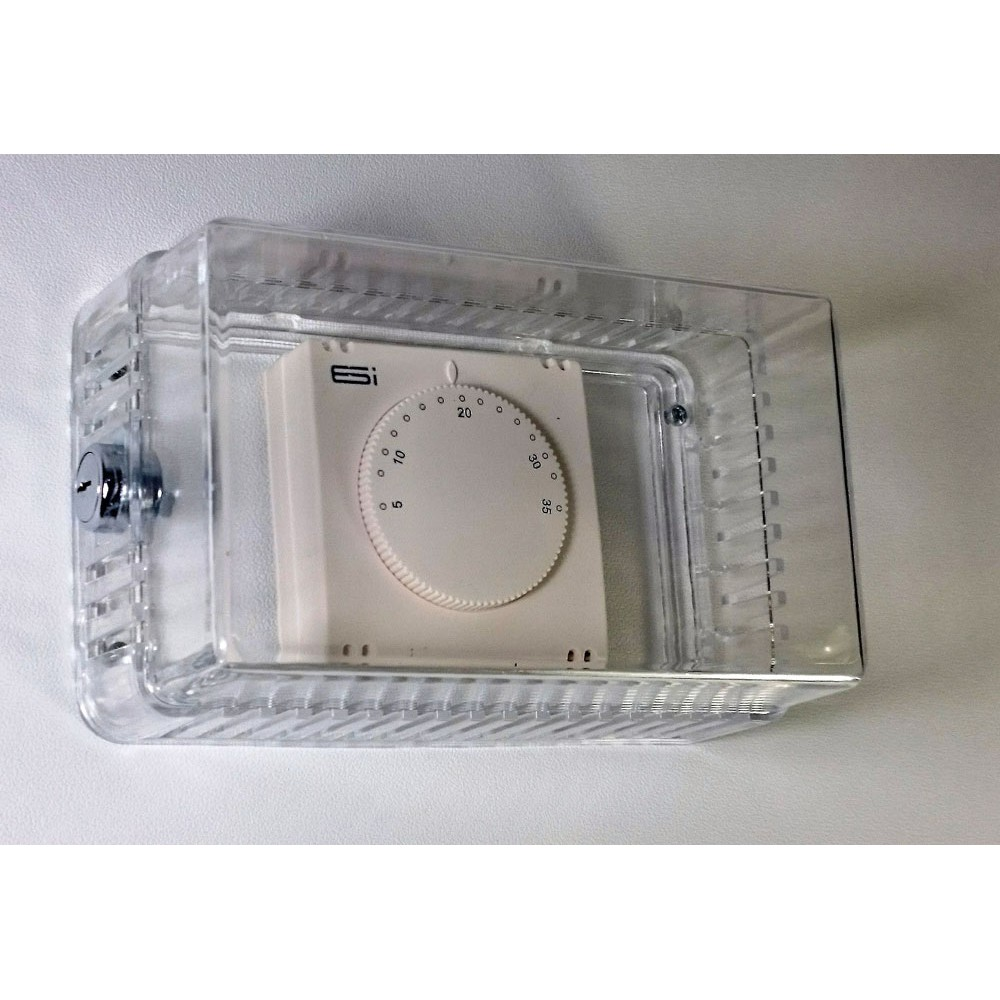 Lockable Thermostat Guard