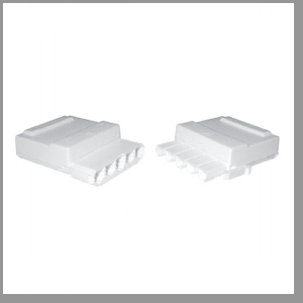 Regin 5 Way Plug/Socket for Motorised Valves