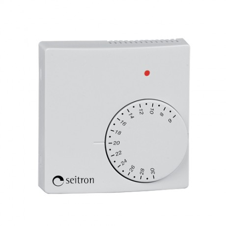 Seitron TAS05 Room Thermostat with Set-Back - 230v