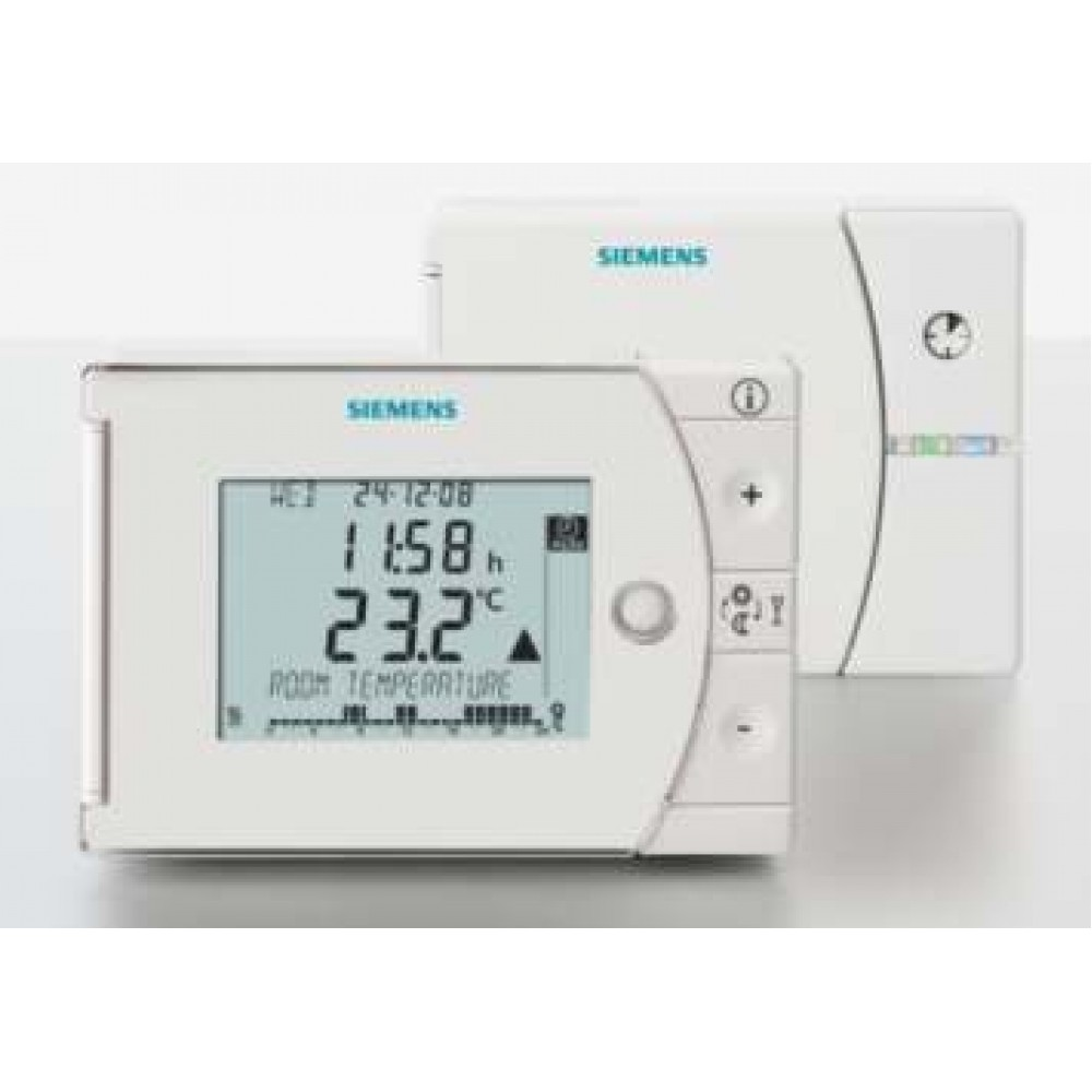 Siemens REV24-RF 7-Day Wireless Programmable Thermostat