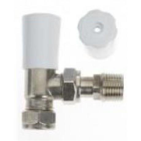 Drayton (ACL) Lockshield with Wheelhead Cap - Chrome