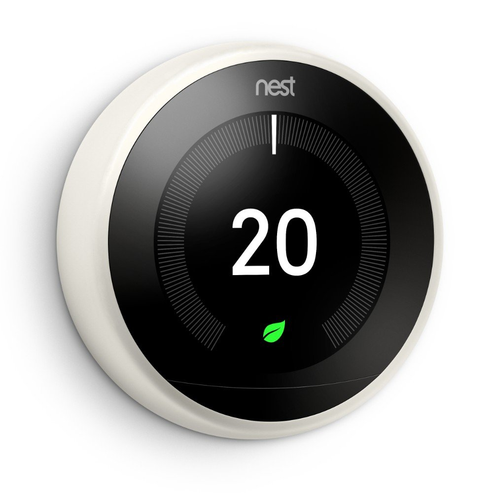 Nest Learning Thermostat - 3rd Generation - White